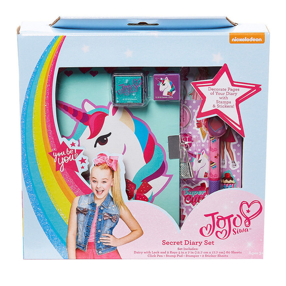 JoJo Siwa Unicorn Diary with Lock and Key a2effe151